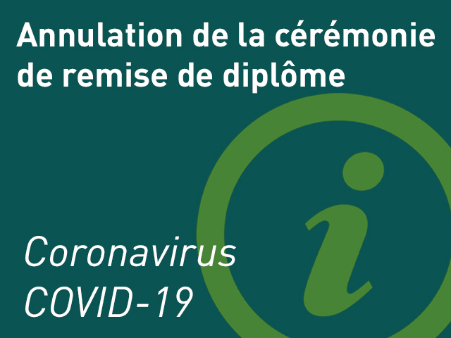 Coronavirus - ICP - Fermeture
